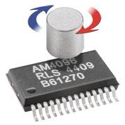 Układ scalony 12-bitowego przetwornika magnetycznego AM4096
